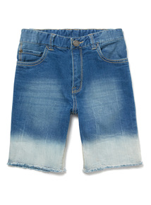 Denim Ombre Shorts (3-14 years)