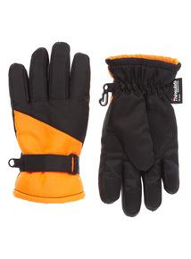 Orange Thinsulate Snow Gloves (3 - 14 years)