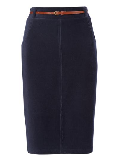 e8c1d0c1ebb9 Womens Navy Corduroy Skirt