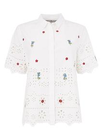 White Retro Shirt