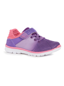Ombre Glitter Trainers (6 Infant-4 Child)