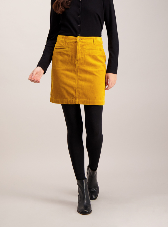 8025b446af2a3f Womens Mustard A-Line Corduroy Mini Skirt | Tu clothing