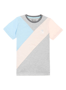 Multicoloured Colour Block Tee (3-12 years)