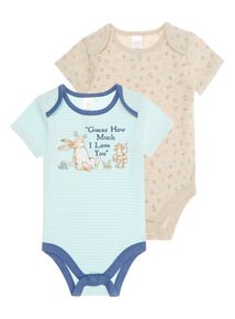 Blue Striped Guess How Much I love You Bodysuit (0 - 24 months)