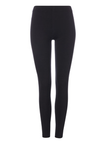 Black Luxurious Soft Touch Leggings