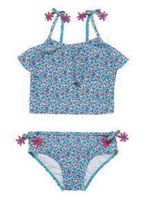 Multicoloured Floral Tankini Set (3 - 12 years)