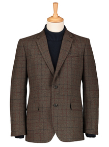 Checked Tailored Fit Blazer