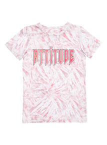 Red Short Sleeve Attitude Tee (3-14 years)