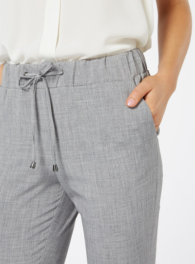 Grey Tailored Jogger