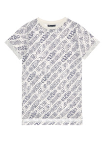 Boys White Skateboard Tee (3 - 12 years)