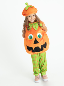 Pumpkin Halloween Costume (0 - 4 years)
