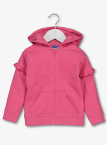 Pink Zip Through Hoodie (9 Months - 6 Years)