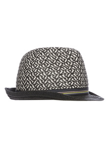 Grey Aztec Trilby (1 - 12 years)