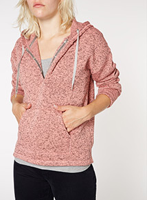 Pink Fleck Fleece