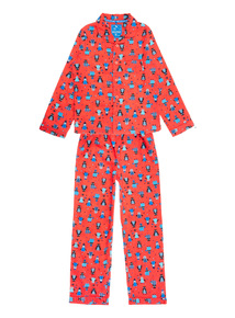 Red Penguin Pyjama Gift Set (1-10 years)