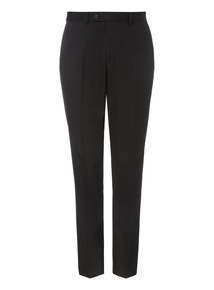 Black Sim-fit Trousers