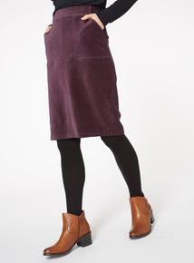 Ribbed Corduroy Skirt