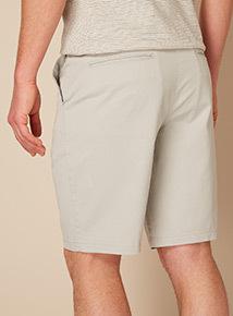 Premium Light Grey Chino Shorts