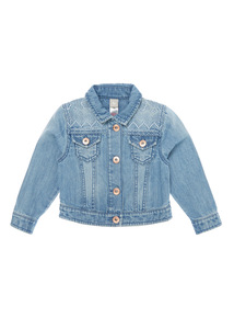 Denim Jacket with Textured Detailing (9 months - 6 years)