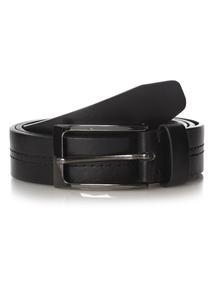 Black Centre Stitch Belt