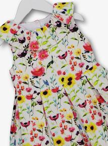 e67cc825e8a5 Multicoloured Floral Textured Dress (9 Months - 6 Years)
