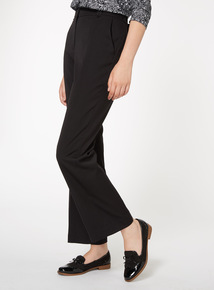 Black Slim Bootcut Trouser