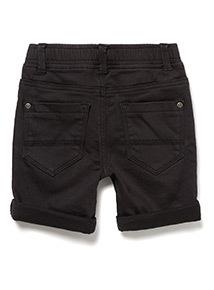 Black Denim Shorts (9 months-6 years)
