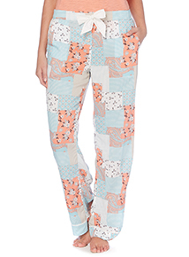 Multicoloured Patchwork Woven Bottoms