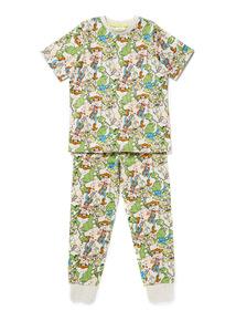 Multicoloured Disney Toy Story Pyjamas (1-7 years)