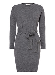 Belted Knitted Dress