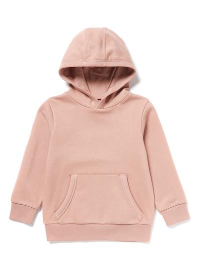 Pink Hooded Pull-Over Sweatshirt (3-14 years)
