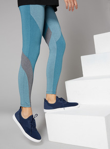 Panelled Active Leggings