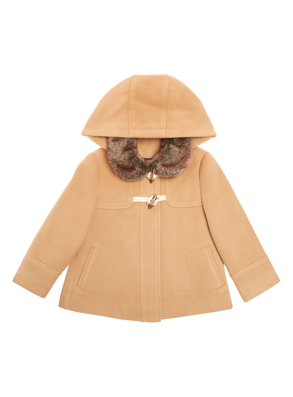 All Girl's Clothing Girls Brown Duffle Coat (9 months - 6 years ...