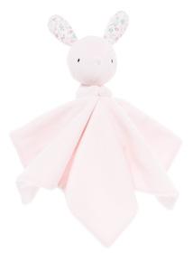 Pink Bunny Comforter (0-24 months)