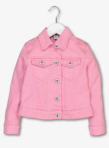 Pink Denim Jacket (3-14 years)