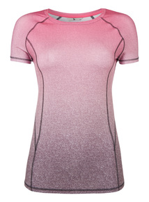Grey Ombre Active T-shirt