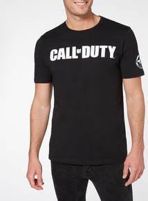 Black Call Of Duty Tee