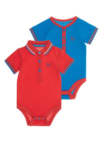 Polo Bodysuits 2 Pack (0 - 24 months)