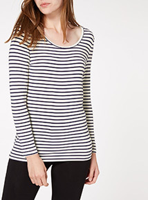 Stripe Heat Active Thermal T-Shirt