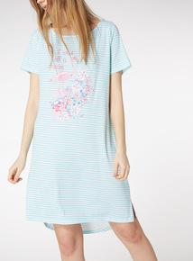 Flamingo Print Nightdress