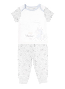 Grey Disney Eeyore PJ Set