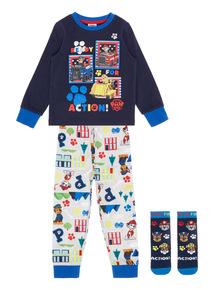 Navy Paw Patrol Pyjamas