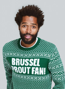 Green Brussel Sprout Fan Jumper