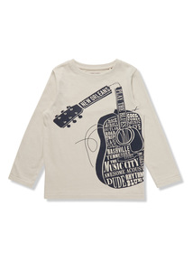 Grey Guitar T-Shirt (3-14 years)