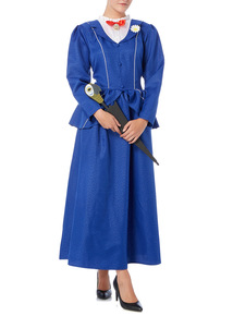 Blue Adult Mary Poppins Costume
