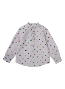 Multicoloured Patterned Shirt