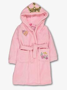 Disney Princess Sleeping Beauty Pink Dressing Gown (1-12 years)