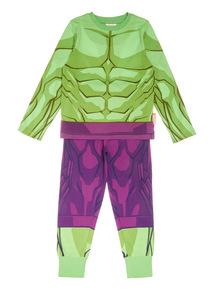 Green Disney Hulk Pyjamas (3-14 years)
