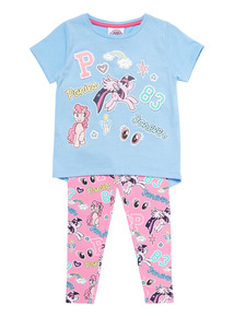 Multicoloured My Little Pony Top And Bottoms Set (2 - 6 years)