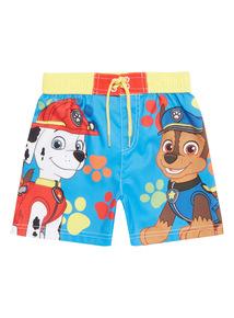 Multicoloured Paw Patrol Swim Shorts (1 - 7 years)